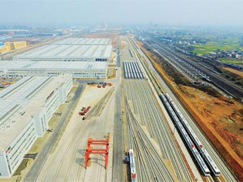 中国中车成都轨道交通产业园建设(电机)项目举行开工仪式