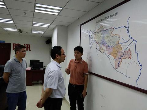 刘旭光主持全市防汛减灾电视电话调度会议